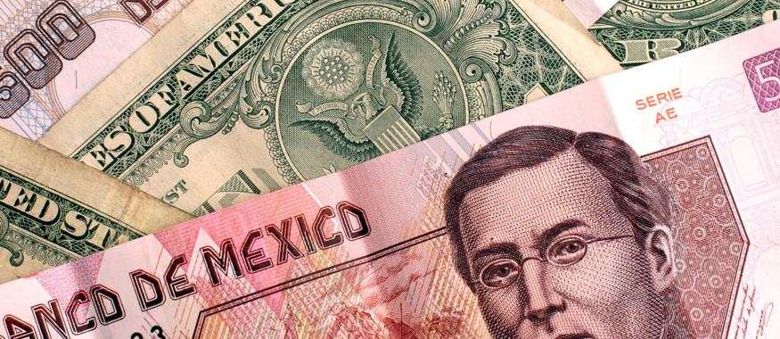 el peso frente al dolar